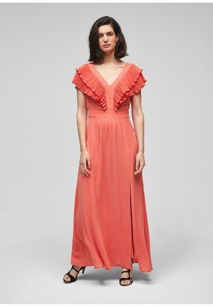 Occasion wear - flamingo orange