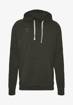 HMLMOVE CLASSIC HOODIE - Jersey con capucha - rosin