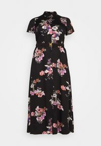Vero Moda Curve - VMLOVELY  DRESS - Sukienka koszulowa - black - 4