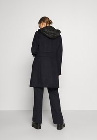 Esprit Collection - HOOD - Klasyczny płaszcz - navy - 2