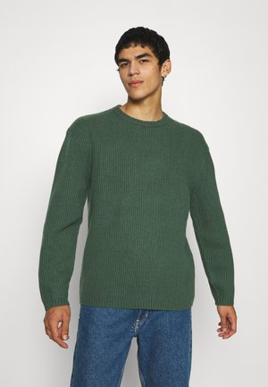 BATTERY CREWNECK - Pullover - pineneedle