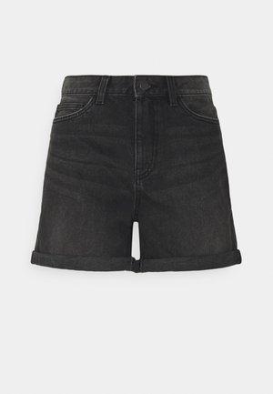 NMSMILEY - Denim shorts - medium grey denim