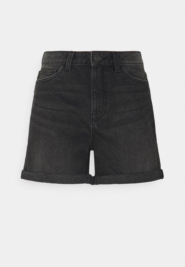 NMSMILEY - Shorts vaqueros - medium grey denim