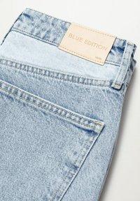 Mango - JULIETA - Relaxed fit jeans - middenblauw - 6