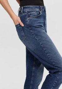 ONLY - MOM FIT JEANS - Slim fit jeans - dark blue denim - 3