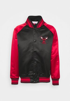 NBA CHICAGO BULLS BIG FACE COLOSSAL JACKET - Club wear - black