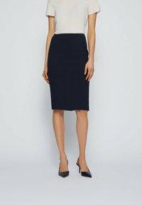 BOSS - Pencil skirt - open blue - 0