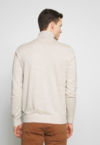 Jack & Jones - JJEEMIL ROLL NECK - Jumper - oatmeal melange - 2