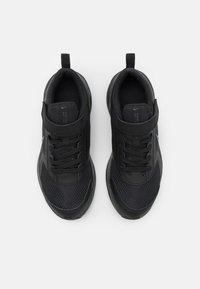 Nike Performance - DOWNSHIFTER 11 UNISEX - Neutral running shoes - black/dark smoke grey - 3