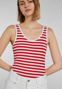 Oui - Top - white red - 3