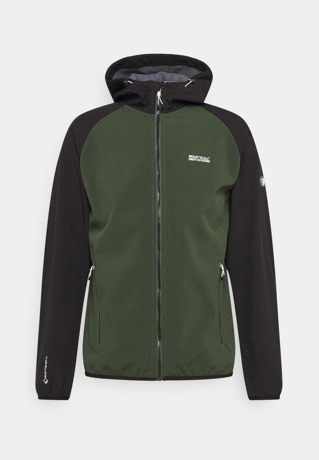 AREC  - Fleece jacket - forest/black