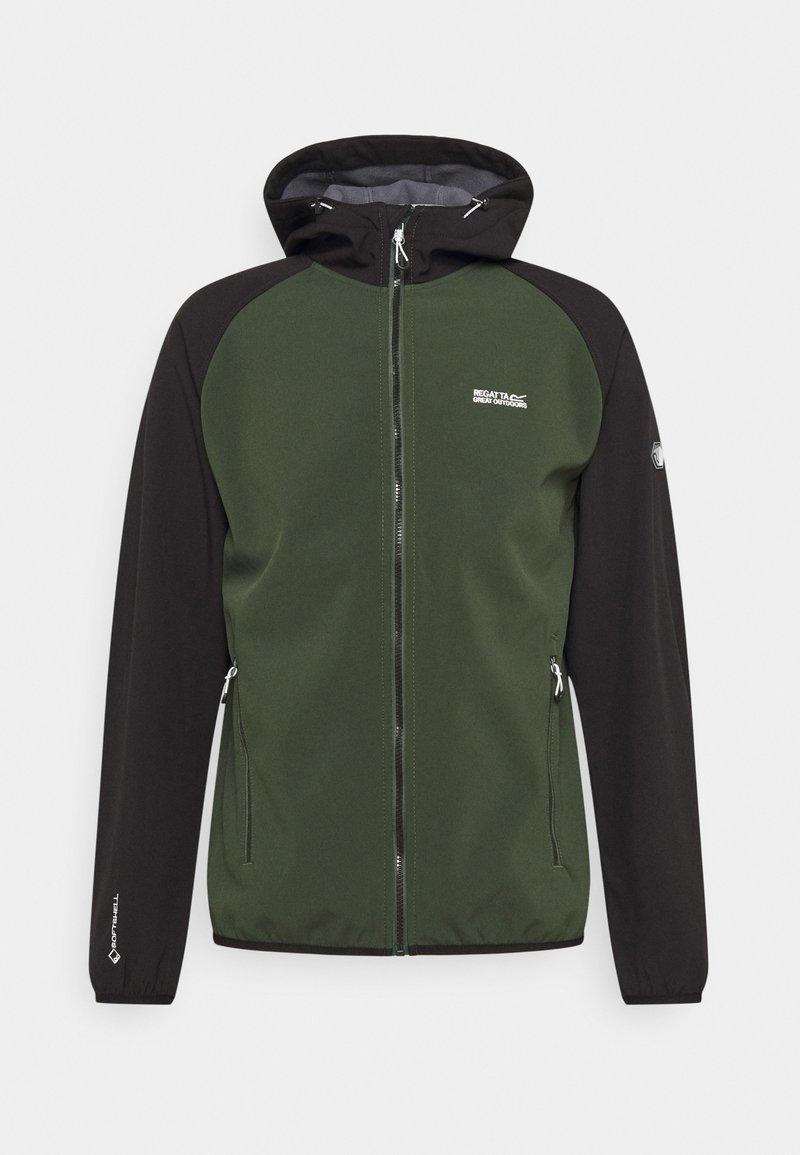 Regatta - AREC  - Fleece jacket - forest/black