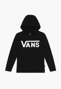 Vans - Hoodie met rits - black/white - 0