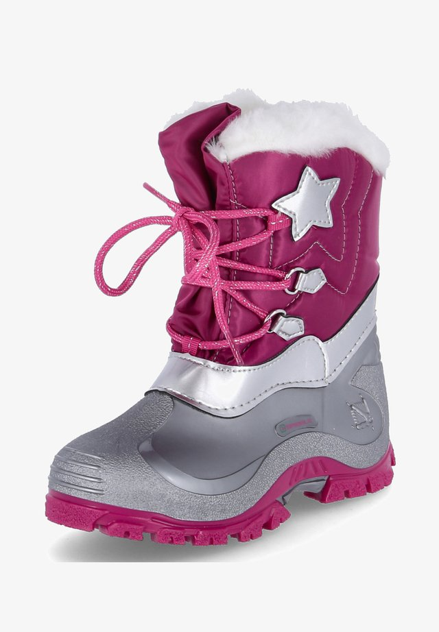 Winter boots - rose/pink