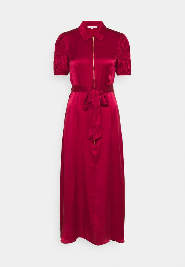 AMELIA DRESS - Maxi-jurk - cranberry