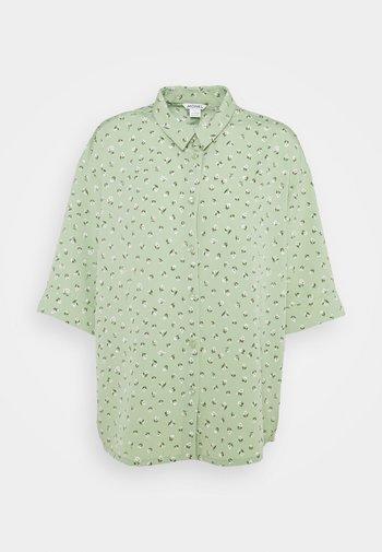 TAMRA BLOUSE - Button-down blouse - green