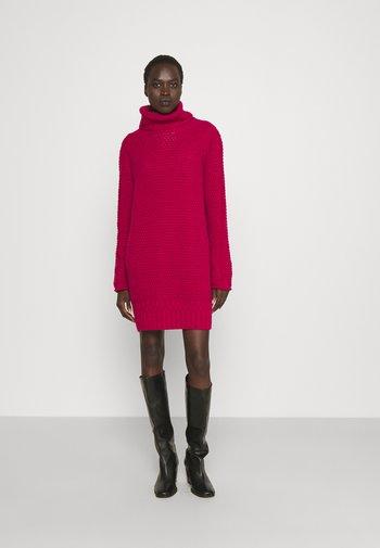 Jumper dress - garnet