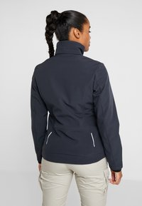 CMP - WOMAN JACKET ZIP HOOD - Soft shell jacket - antracite - 3
