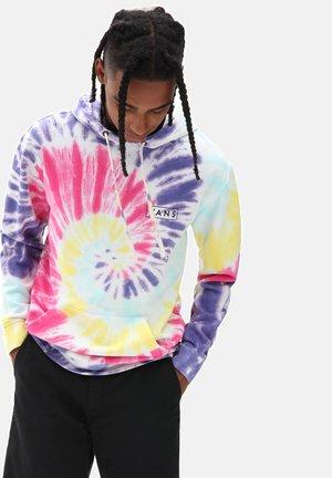 Hoodie - rainbow (spectrum)tie dye