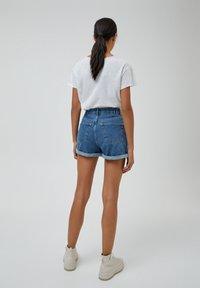 PULL&BEAR - Szorty jeansowe - blue - 2