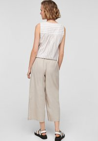 QS by s.Oliver - Trousers - beige - 2