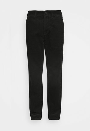 Trousers - khaki green dark