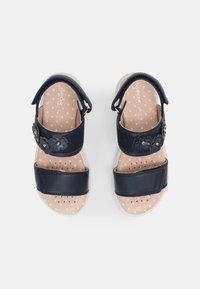 Geox - DEAPHNE GIRL - Sandals - navy - 3