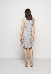 Lauren Ralph Lauren - DRESS - Denní šaty - taupe/zinc grey - 2