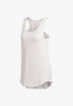 LONG TANK KARLIE KLOSS AEROREADY TRAINING WORKOUT REGULAR TOP - Top - weiss (100)