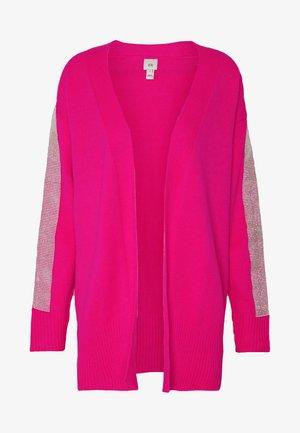KACIE CUFF CARDI - Strikjakke /Cardigans - pink bright