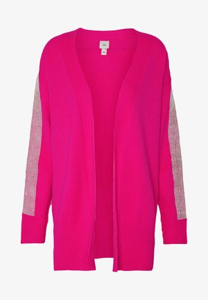 KACIE CUFF CARDI - Chaqueta de punto - pink bright
