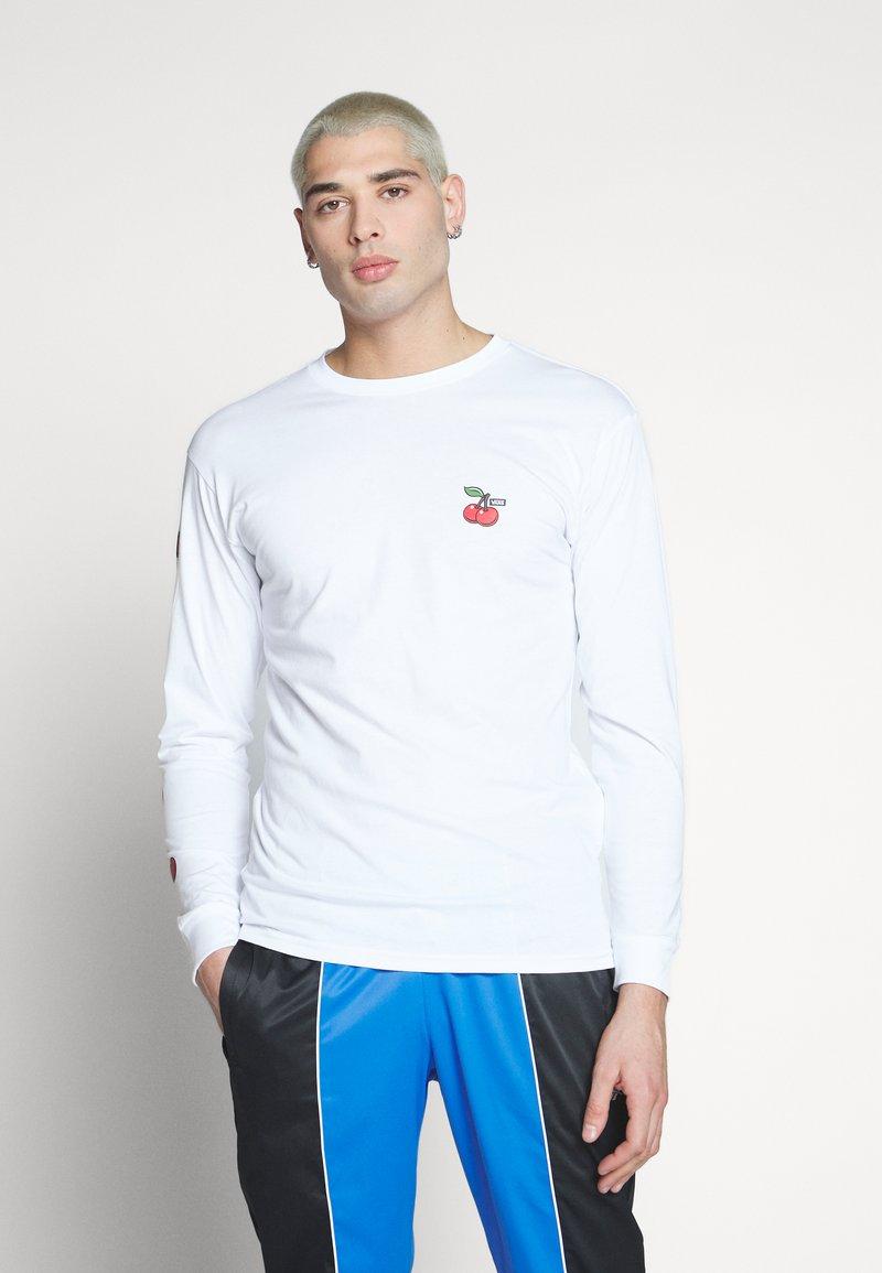 Vans - CHERRIES  - Langarmshirt - white