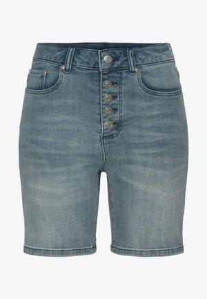 Jeansshort - blue washed