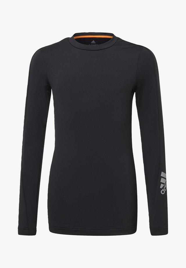 ALPHASKIN WARM AEROREADY WARMING LONG-SLEEVE TOP - Long sleeved top - black