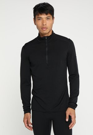 HALF ZIP - Undertröja - black