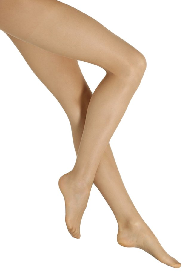 FALKE INVISIBLE DELUXE 8 DENIER STRUMPFHOSE ULTRA-TRANSPARENT MATT  - Tights - powder