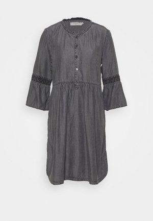 LUSSA DRESS - Denim dress - black wash