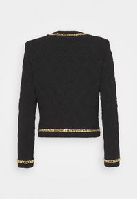 MOSCHINO - JACKET - Blazer - black/gold-coloured - 1