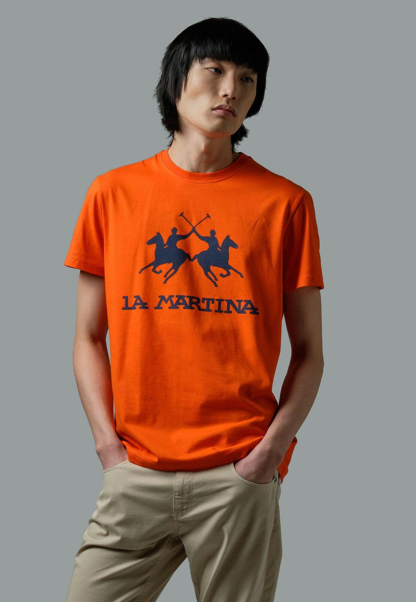 Homme RUTGER - T-shirt imprimé