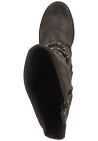 Mustang - Cowboy/Biker boots - dunkelgrau 20 - 1