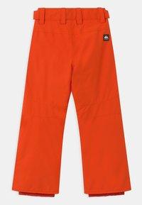 Quiksilver - ESTATE UNISEX - Zimní kalhoty - pureed pumpkin - 1