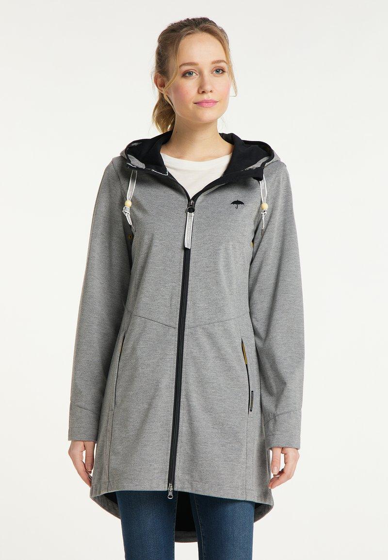 Schmuddelwedda - Outdoor jacket - grau melange