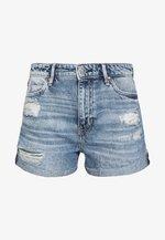 GEMMA - Jeans Shorts - tomorrow blue