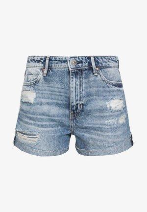 GEMMA - Denim shorts - tomorrow blue