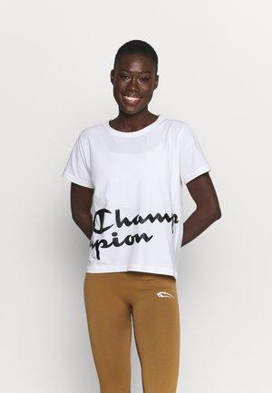 CREWNECK - T-shirts med print - white