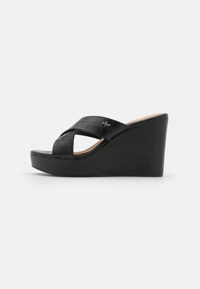 ENA - Heeled mules - black