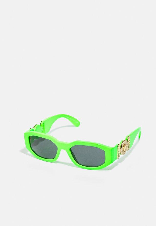 UNISEX - Sluneční brýle - green fluo