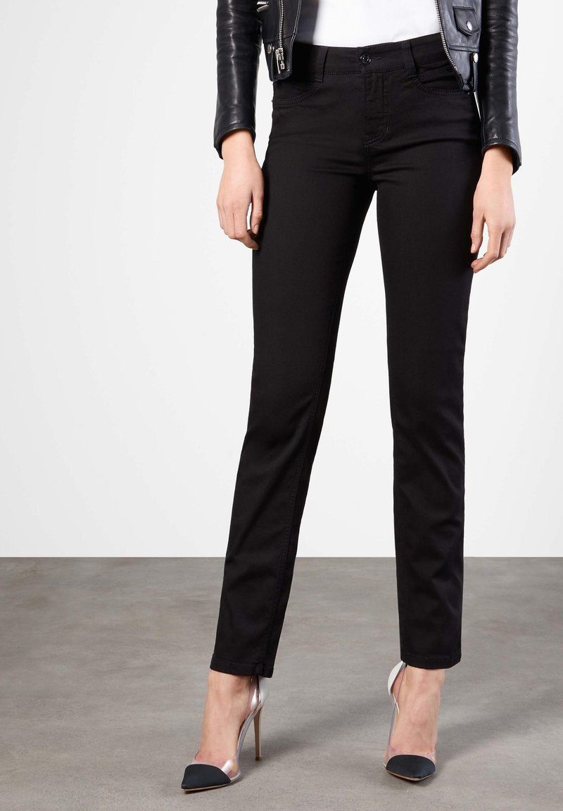MAC Jeans - ANGELA - Slim fit jeans - black