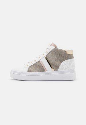 CHAPMAN MID - Sneakersy wysokie - white/rainbow