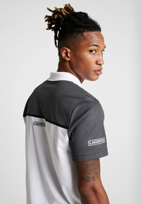 Lacoste Sport - DH4776  - Sports shirt - white/black - 5